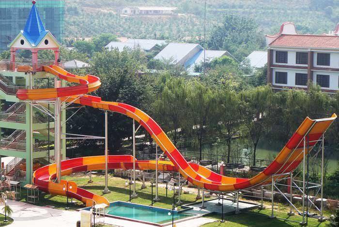 水上滑梯设计 - 河北科力水滑梯-【打造城镇水世界】